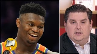 I could still vote for Zion over Ja Morant for Rookie of the Year - Brian Windhorst | The Jump