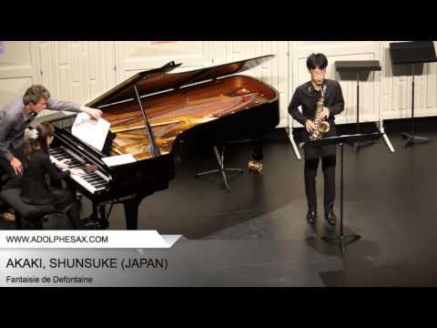 Dinant 2014 - AKAKI, Shunsuke (Fantaisie de Defontaine)