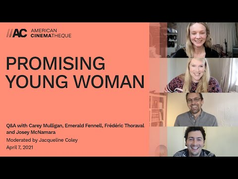 PROMISING YOUNG WOMAN | Q&A w/ Carey Mulligan, Emerald Fennell, Frédéric Thoraval & Josey McNamara