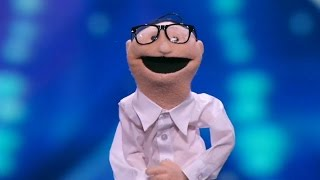 America's Got Talent 2015 S10E01 Ira Hilarious Puppet Act