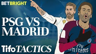 How do Real Madrid stop Neymar & PSG? | Champions League Tactics
