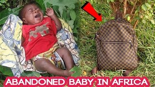 ABANDONED BABY IN AFRICA (Social Experiment)