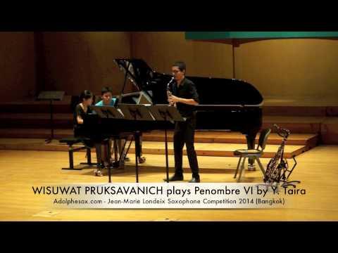 WISUWAT PRUKSAVANICH plays Penombre VI by Y Taira
