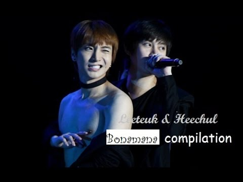 LeeTeuk & HeecHul 'Bonamana parts' collection