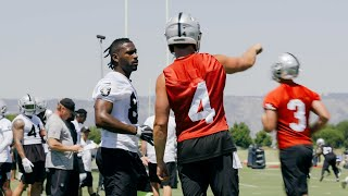 I'm Mic'd Up At Raiders Mini Camp (2019)