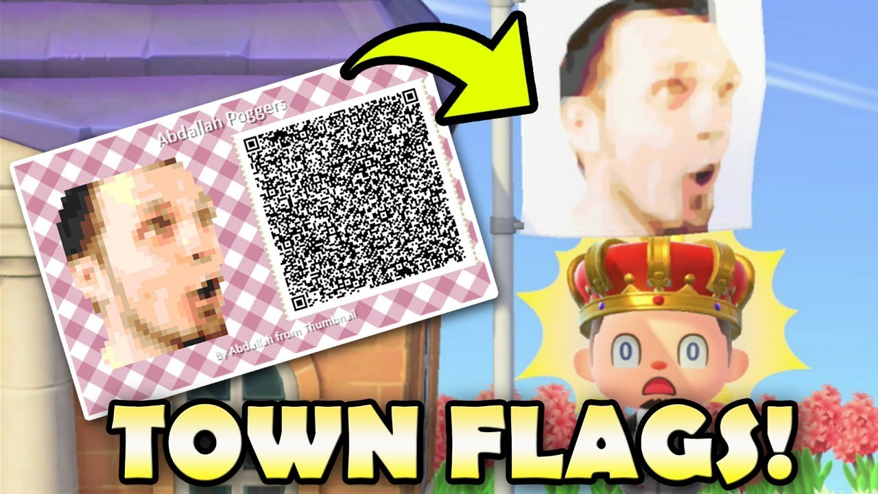 Making Your Town Flags In Animal Crossing New Horizons Taking