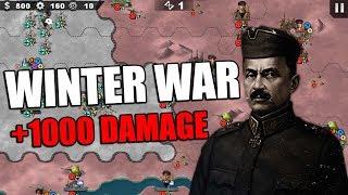Winter War Time ! 1000 DAMAGE Mannerheim