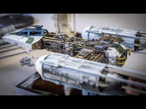 Star Wars Studio Scale Y-Wing Model!