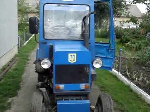 Осенняя вспашка огородов на МТЗ 82.1 (2014г.) - YouTube