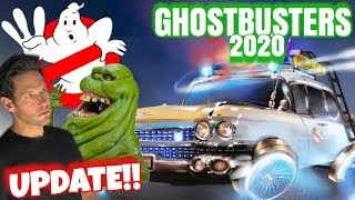 Ghostbusters 3 (2020) NEW Photos, Slimer , & MORE!!