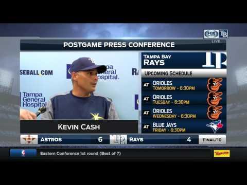 Tampa Bay Rays vs Houston Astros