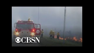 Amazon rainforest burning at record rate, engulfing Bolsonaro in controversy