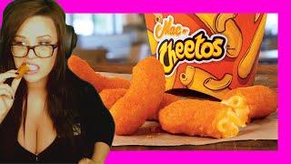 Burger King Mac N' Cheetos   Taste Test + Review
