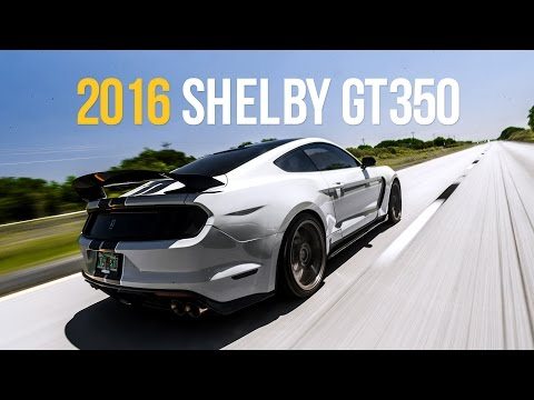 The First 2016 Shelby GT350 on Air   e-Level Equipped