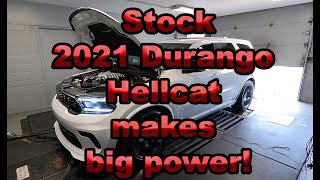 2021 Durango Hellcat Dyno tested minutes after buying!!