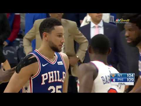 Philadelpiha 76ers vs New York Knicks | November 20 2019