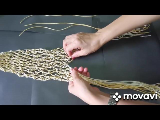 體驗多元文化!高大社團新好社「印尼編織杯(網)袋」線上教學