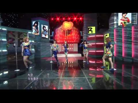 [SBS] KARA - STEP (639회) 110918