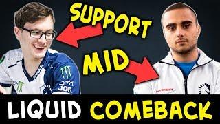 Miracle support, Kuroky mid — Liquid insane COMEBACK
