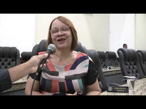 Entrevista com a vereadora Neinha Bastos - PTB.