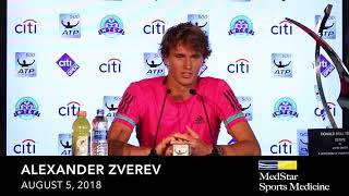 Alexander Zverev - August 5, 2018