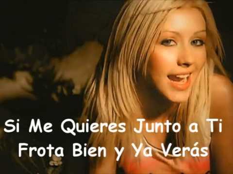 Christina Aguilera- Genio Atrapado (Con Letra)