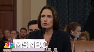 'Fiona Hill Is President Donald Trump's Worst Nightmare' | Morning Joe | MSNBC