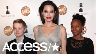 Angelina Jolie Shares The Advice She Gives Her Daughters: 'It's Your Mind That Will Define You'