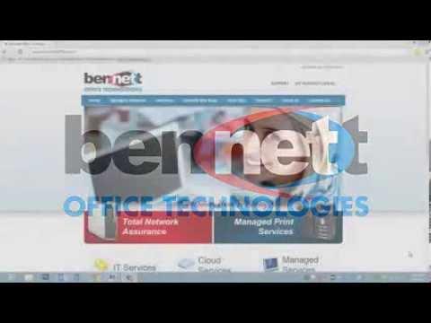 Bennett Office Technologies Customer Portal: How to Login