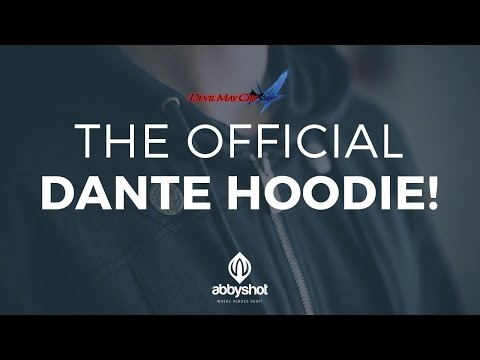 The Official Dante Hoodie - Devil May Cry 4