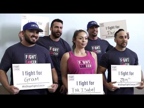 Join in-Shape this October in the fight against cancer. #InShapeFightsCancer