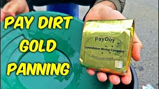 Pay Dirt - Gold Panning