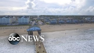 North Carolina's outer banks shut down as Hurricane Florence bears down
