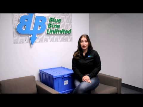 Eco-Friendly Plastic Moving Bins In Toronto from Blue Bins Unlimited