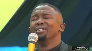 Gospel artist, Bulelani Koyo's live performance at God is Love revival service in Port Elizabeth