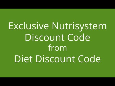 NUTRISYSTEM COUPONS – 40% off Nutrisystem Discount Code, Coupons 2017