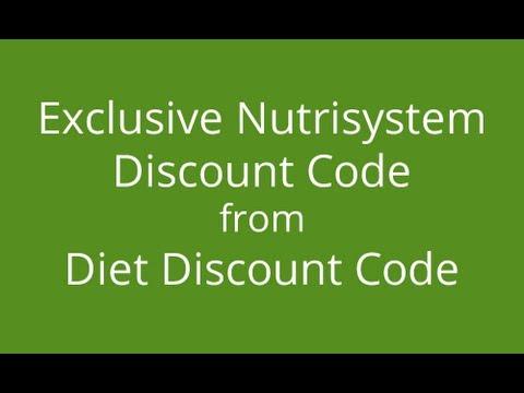 Nutrisystem codes
