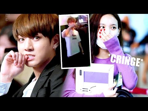 K-POP AWKWARD/FUNNY INTERACTIONS