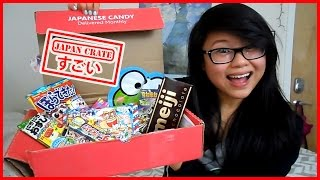 Japan Crate || Japanese Candy & Snacks [Jan. 2015]