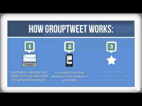 GroupTweet Sports Promo Video