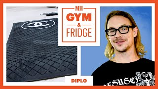 Diplo Shows His Home Gym & Fridge | Gym & Fridge | Men's Health