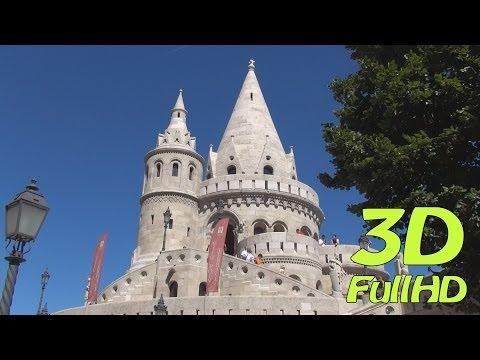 [3DHD] Fisherman's Bastion / Halászbástya / Baszta Rybacka, Budapest, Hungary / Magyarország / Węgry