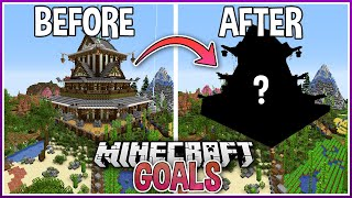 Upgrading My First Minecraft Mega Base with Creative Mode!