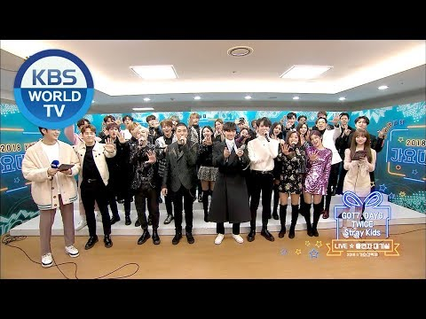 JYP Family interview! [2018 KBS Song Festival/ENG/CHN/2018.12.28]