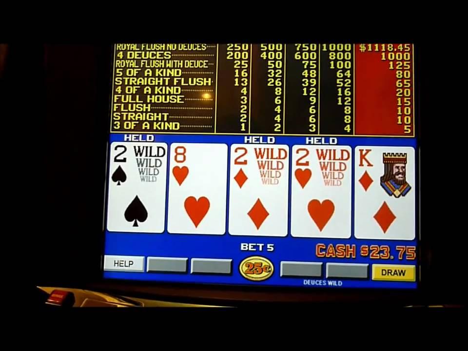Slot Machine Gratis Video Poker