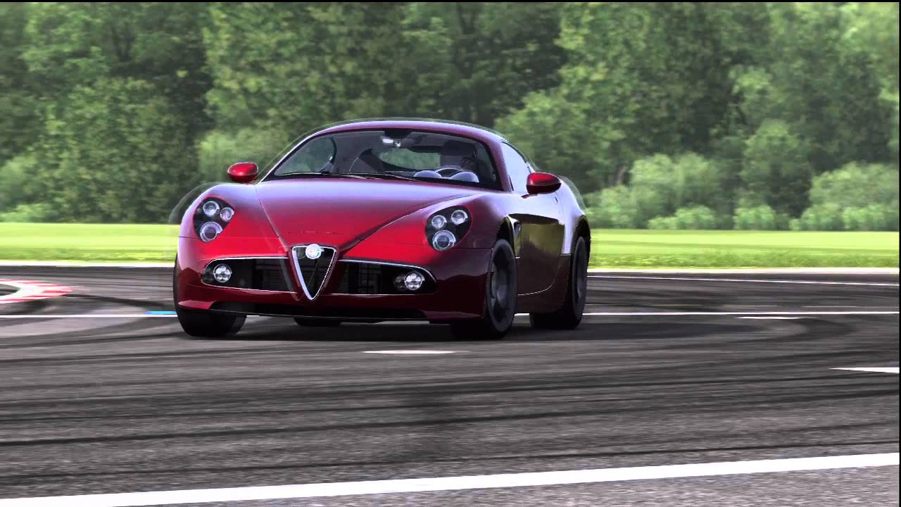 alfa romeo 8c competizione top gear track youtube. Black Bedroom Furniture Sets. Home Design Ideas