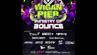 DJ Scotty - Wigan Pier & Ministry of Bounce Anthems 2019 UKBOUNCEHOUSE.COM