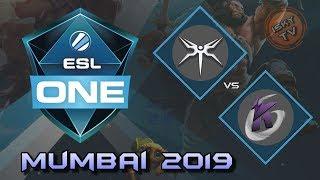 Mineski vs Keen Gaming / Grand Finals / Bo5 / Playoffs /  ESL One Mumbai 2019 / Dota 2 Live