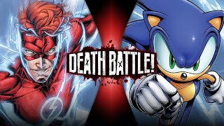 Flash VS Sonic (Wally West VS Archie Sonic) | DEATH BATTLE!