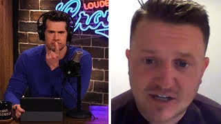 'EUROPE IS HELL!' (Tommy Robinson Uncut) | Louder With Crowder